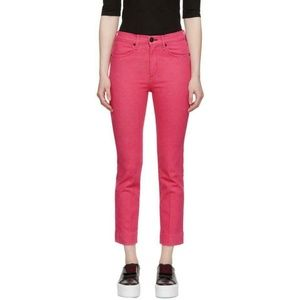 RAG & BONE Ankle Cigarette Jeans Bull Pink 27 New